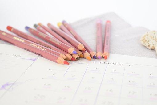 Pencils, Coloured Pencils, Colours, Colors