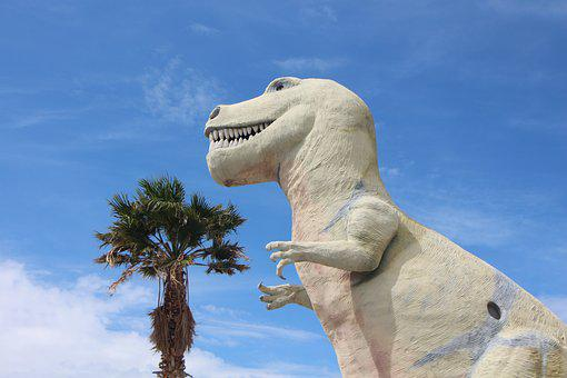 T-rex, Dinosaur, Palm Springs, California, Dino