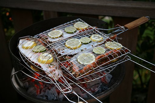 Grill, Barbecue, Fish, Lemon, Eat, Food, Delicious