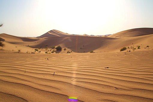 Abu Dhabi, Emirates, Desert, Arabic, Orient, Uae, Sand
