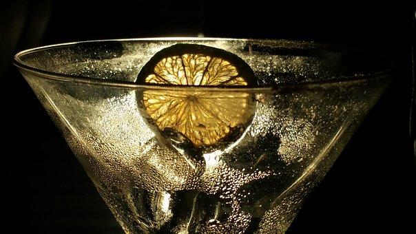 Cocktail, Celebration, Lemon, Ice, Yellow, Refreshment