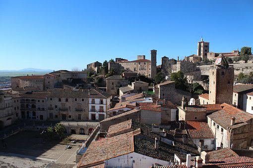 Trujillo, Extremadura, Torres, Monumental, Plaza