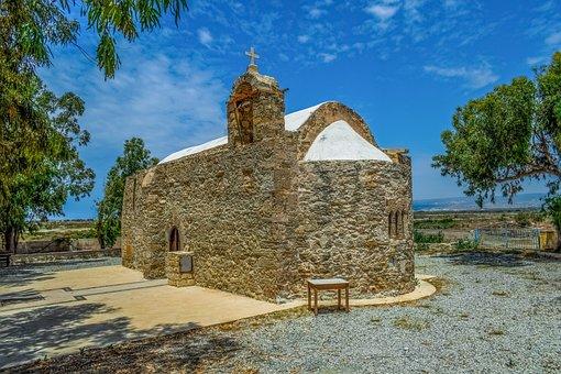 Cyprus, Akrotiri, Ayios Georgios, Church, Orthodox