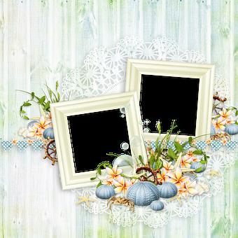 Scrapbooking, Frame, Decor, Ornament, Photo Frame