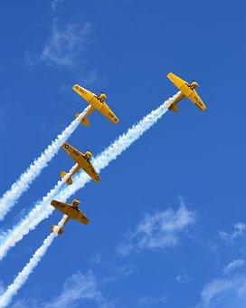 Aviation, Airshow, Warbird, Aircraft, Plane, Flight