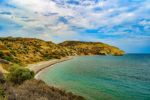 Pebble Beach, Nature, Sea, Coast, Landscape, Sky
