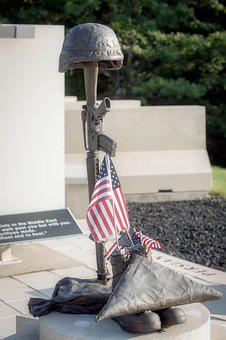Soldier, Military, Combat, Weapon, Soldiers, Memorial