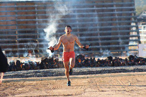 Spartan Race, Spartan, Race, Run, First Place