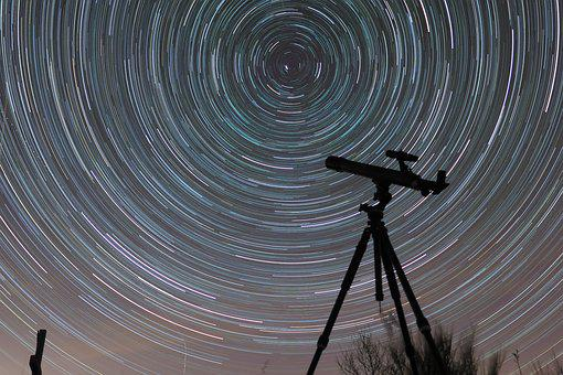 Goodnight, Stars, The Night Sky, Rotation, Telescope