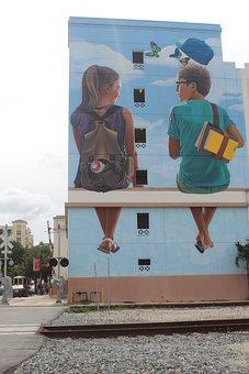 West Palm Beach, Street Art, Mural, Wall Art, Florida