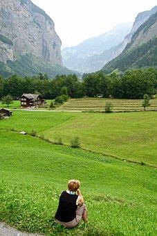 View, Alps, Landscape, Mountains, Panorama, Switzerland