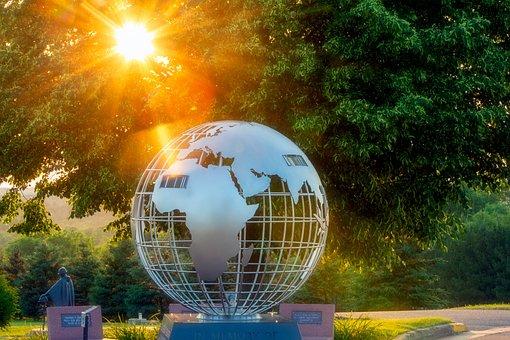 Memorial, Tribute, War, Wwii, Neillsville, Wisconsin