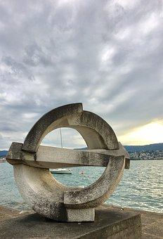 Waters, Sea, Sky, Ocean, In The Free, Zurich, Canton