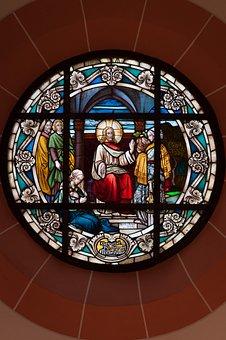 Church, Window, Wedding, Christian