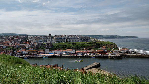 Whitby, Yorkshire, Landscape, Tourism, Historic, Sea