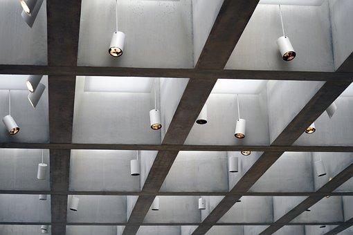 Art, Museum, Lighting, Exhibition, White, Concrete