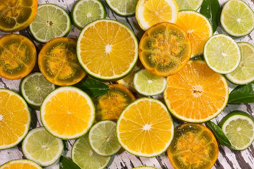 Orange Background, Orange Yellow, Yellow, Yellow Fruit