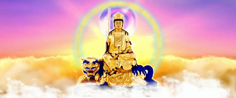 文殊师利菩萨, Buddha, Buddhism, Zen Ring