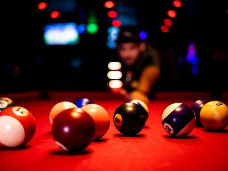 Pool, Billiards, 8 Ball, Skill, Balls, Game, Gamble