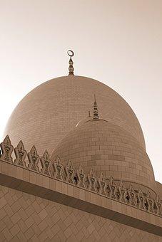 Abu Dhabi, Mosque, Architecture, Religion, Muslim