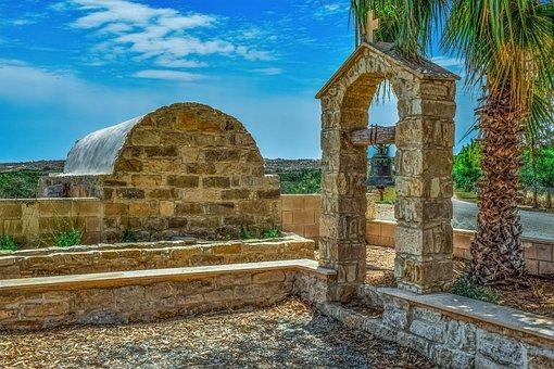 Cyprus, Akrotiri, Ayios Georgios, Church, Belfry