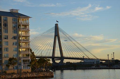 Anzac Bridge, Bridge, Sydney, Australia