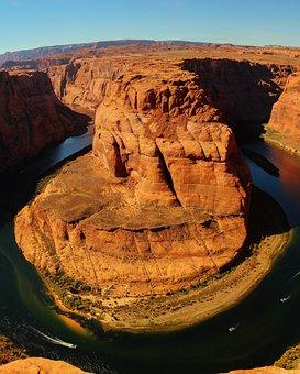 Canyon, Arizona, Landscape, Colorado, Desert, River