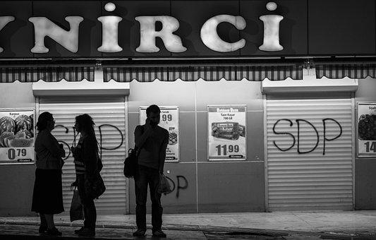 City, People, B Add, Street, Urban, Contact, Human
