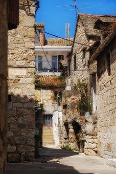 Road, Away, Alley, Homes, Building, Mediterranean, Old