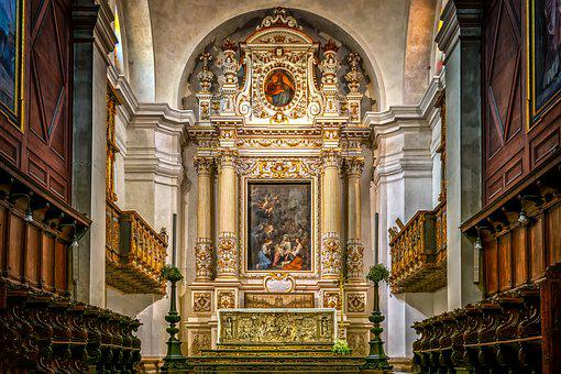 Cathedral, Altar, Church, Religion, Dom, Catholic