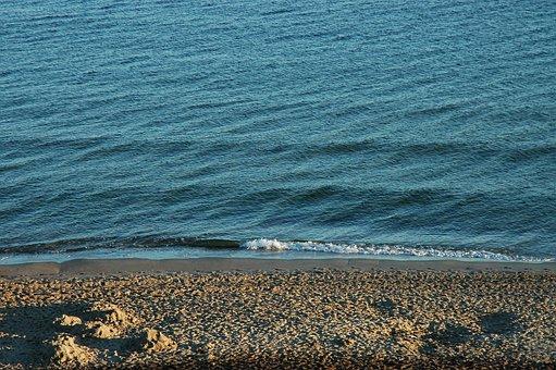 Sea, Beach, Water, Sand, Summer, Coast, Sunlight