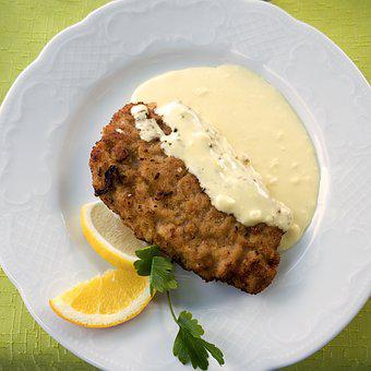 Cordon Bleu, Eat, Schnitzel, Meat, Nutrition, Food