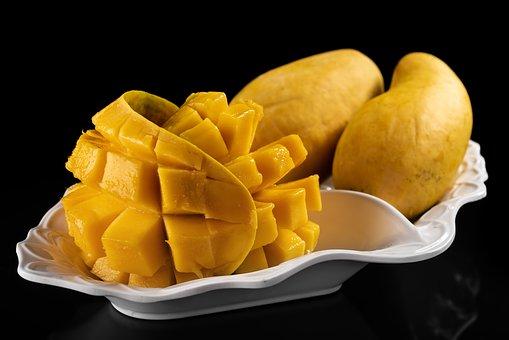 Mango, Mangoes, Fresh, Fruit, Fruits, Yellow, Orange