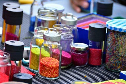 Color, Hobby, Creative, Grains, Creativity, Coloring
