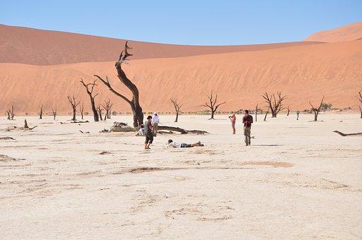 Africa, Desert, Namibia, Hills, Photographer