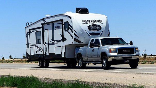 Caravan, Car, Camping, Vehicle, Holiday, Transport