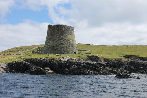 Broch, House, Castle, Fort, Neolithic, Historic