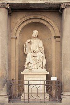 Firenze, Sculpture, Ille Hic Est Arnulphus, Italy