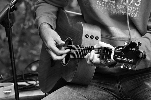 Guitar, Guitar Player, Instrument, Music