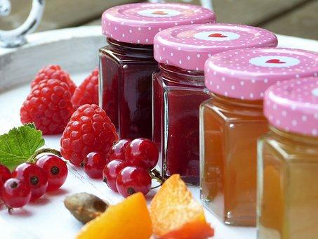 Fruit, Fruits, Jam, Raspberries, Harvest, Bio, Ripe