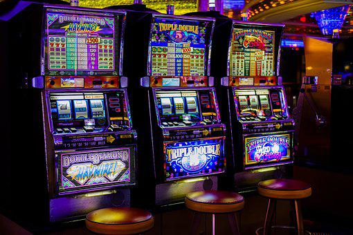 Casino, Arcade, Slot Machines, Machines, Gambling, Risk