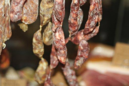 Salami, Sausage, Cured Sausage, Meat, Cacciatore