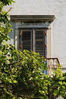 Window, Opening, Old, Shutter, Building, Mediterranean