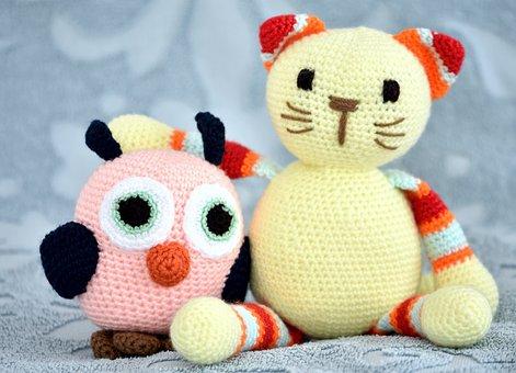 Toys, Soft, Owl, Pussycat, Edward Lear