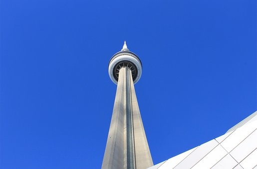 Cn, Tower, Toronto, Canada, Ontario, Sky, Architecture