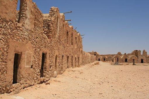 Tunisia, Matmata, Filming Location Of Star Wars