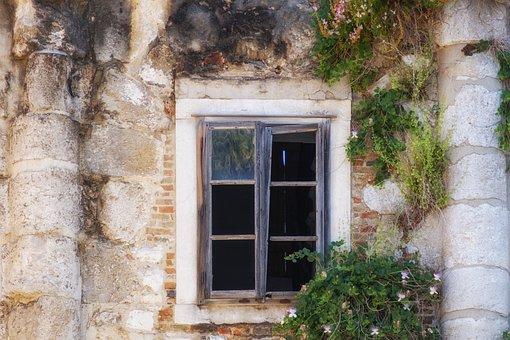 Window, Opening, Old, Broken, Dilapidated, Ruin