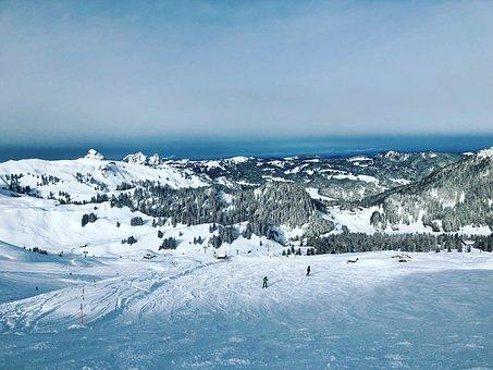 Skiing, Ski, Nature, Snow, Cold, Sky, Landscape, Winter