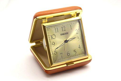Traveling Alarm Clock, Clock, Watch, Alarm, Alarm Clock
