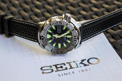Hour S, Watch, Diver's Watch, Seiko, Catalog